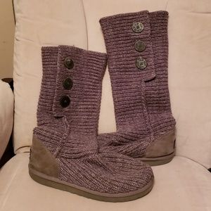 Ugg sweater boots size 10